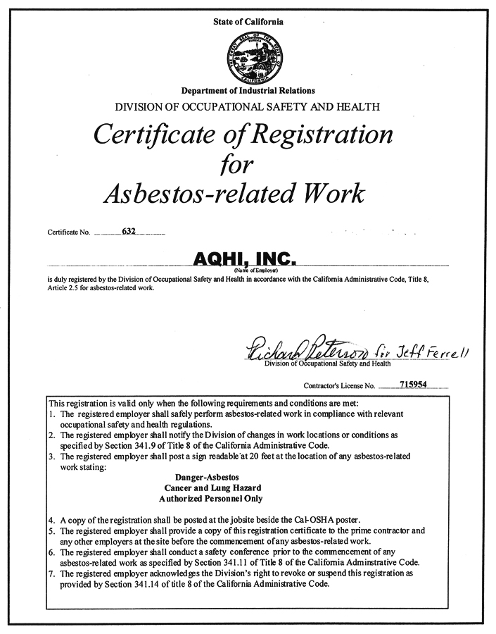 Aqhi Inc Advanced Quality Hazmat Industries