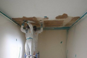 Asbestos Ceiling Removal in Cypress CA